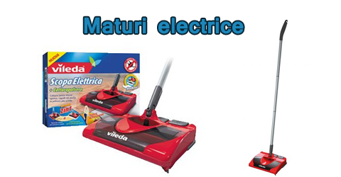 Maturi electrice ieftine: alternative aspiratoare